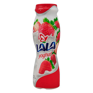 Yogurt bebible Lala fresa 200 g