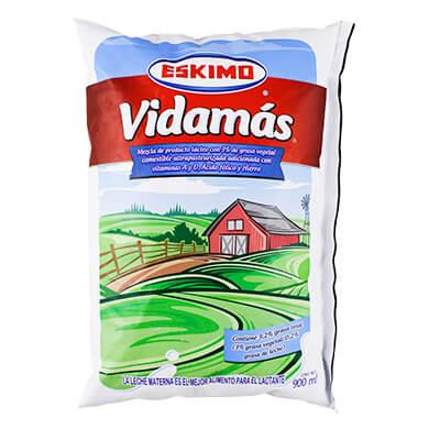 Leche Eskimo vidamas formula lactea 900 ml