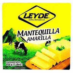 MANTEQUILLA LEYDE AMARILLA 454 GR