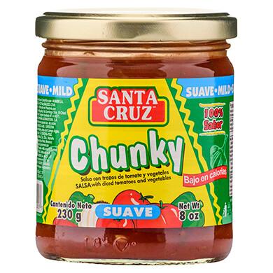 Salsa Santa Cruz chunky suave 230 g