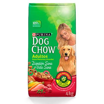 DOG CHOW RAZA GRANDE PERRO ADULTO 4 KG