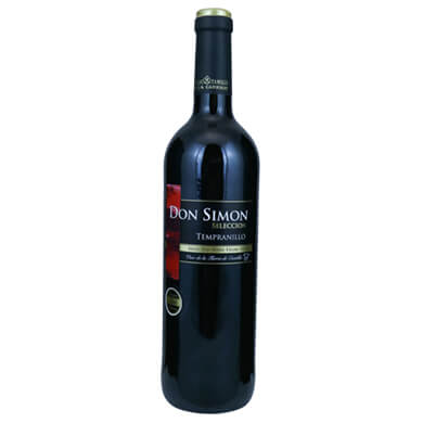 Vino tinto Don simon tempranillo 750 ml