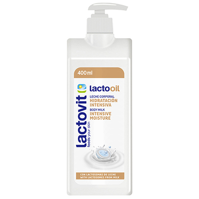 CREMA CORPORAL LACTO OIL 400 ML