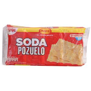 GALLETA POZUELO SODA 8U 176 GR