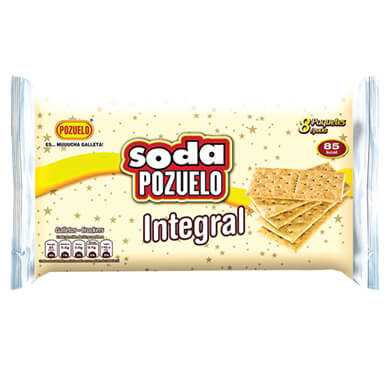 GALLETA POZUELO SODA INTEGR PAQ 8U 176GR