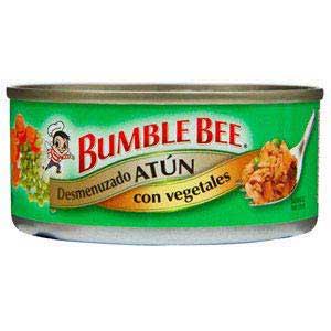 ATUN BUMBLEBEE TROCITOS CON VEGETALES 142GR