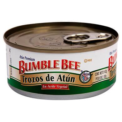 ATUN BUMBLE BEE TROZOS EN ACEITE 142 GR