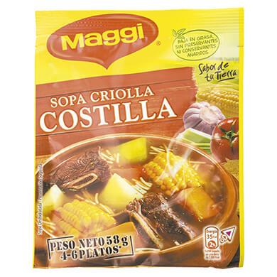 SOPA MAGGUI COSTILLA CRIOLLA 58GR