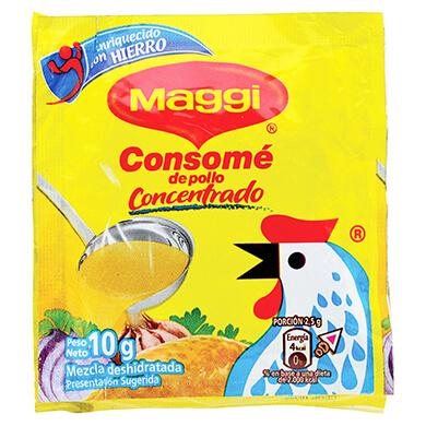 CONSOME MAGGI DE POLLO 4PACK 40GR