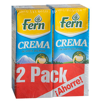 CREMA FERN UHT 2 PACK 500 ML