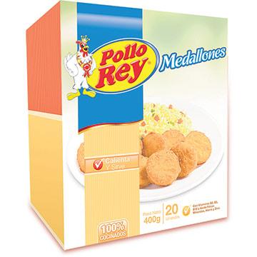 MEDALLONES POLLO REY CARNE DE POLL 400GR