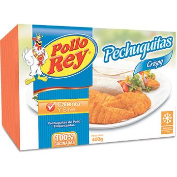 PECHUGUITAS POLLO REY CRISPY 400GR