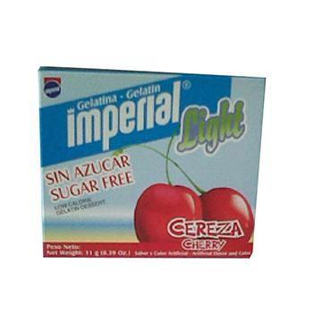 GELATINA IMPERIAL SABR LIGHT CEREZA 11GR