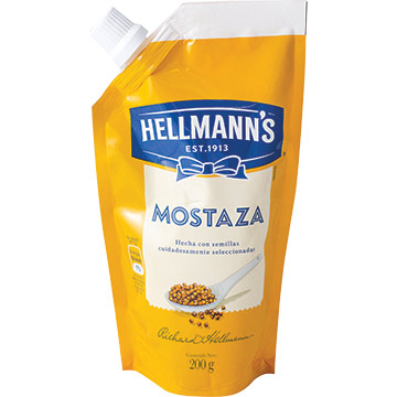 MOSTAZA HELLMANNS DOY PACK 200GR