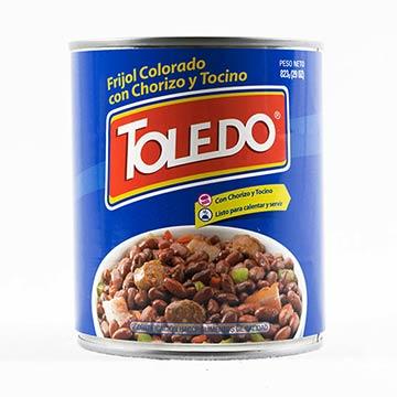 FRIJOL TOLEDO ROJO CHORIZ TOCIN 822 14GR