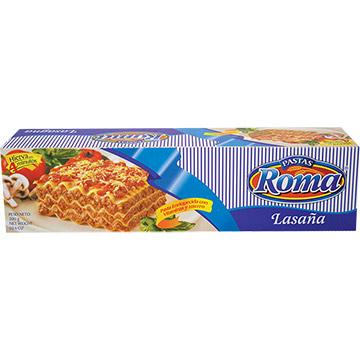 PASTA ROMA LASAGNA CAJA 300GR