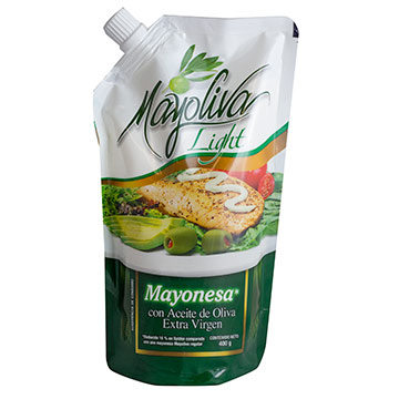 MAYONESA MAYOLIVA ACEITE DOY PACK 400GR