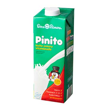 LECHE DOS PINOS PINITO UHT ENTERA 1000ML