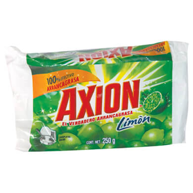 LAVAPLATOS AXION LIMON SOLIDO REP 250GR