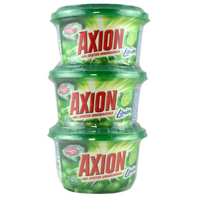 LAVATRASTOS AXION 3PACK 425GR