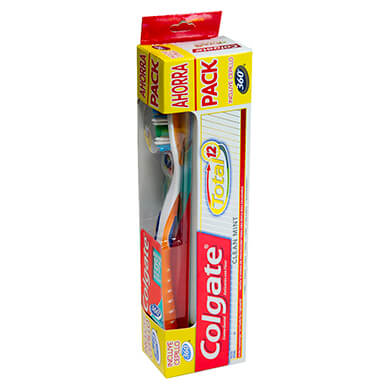 CEPILLO DENTAL COLGATE 360MAS CREMA DENTAL 1U